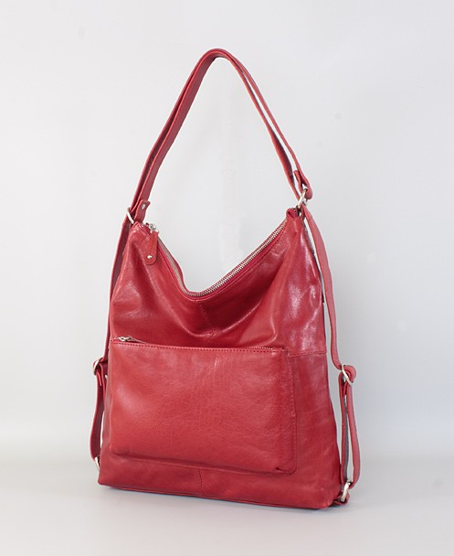 Bolso - mochila de piel